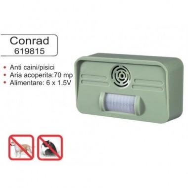 Dispozitiv pentru alungarea cainilor si pisicilor Conrad