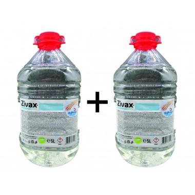 Zivax Micro solutie antiseptica igienizanta pentru suprafete, cu rol dezinfectant, 5l pet, oferta 2 bucati
