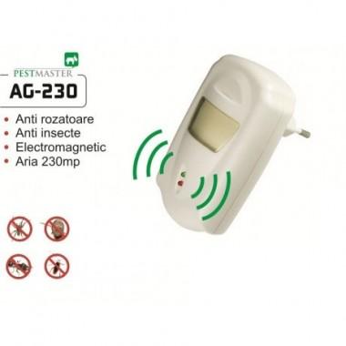 Aparat cu unde electromagnetice anti gandaci, anti rozatoare AG-230