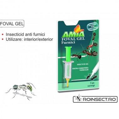 Gel insecticid foval pentru Furnici, 5g