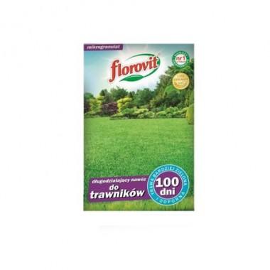 Ingrasamant specializat granulat Florovit pentru gazon cu efect prelungit 100zile 1kg