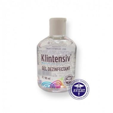 KLINTENSIV - Gel dezinfectant pentru maini 80 ml