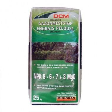 Fertilizant pentru peluza  NPK 8-6-7+3 MgO DCM( 25 Kg)