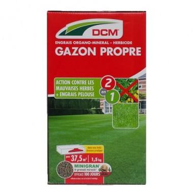 Fertilizant peluza + erbicid NPK 9-3-6 DCM 1.5 kg