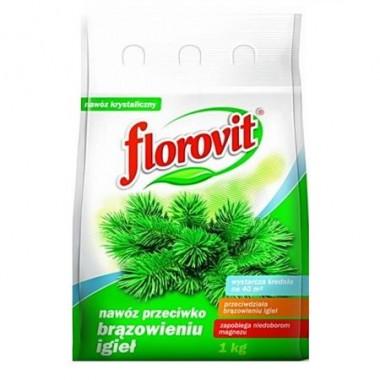 Ingrasamant specializat granulat Florovit impotriva acelor maronii la conifere 1kg