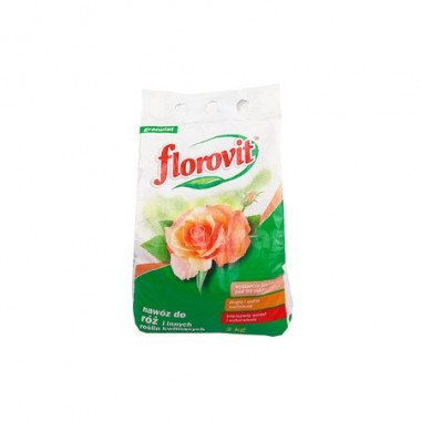 Ingrasamant specializat granulat Florovit pentru trandafiri 3kg