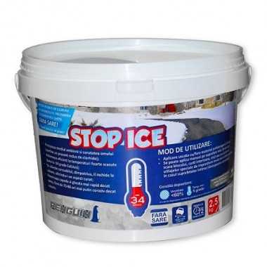 Produs biodegradabil pt. prevenirea si combaterea ghetii - STOP ICE 2.5 Kg