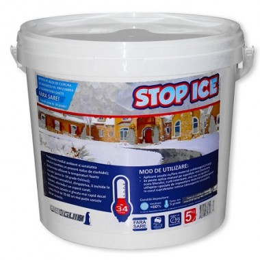 Produs biodegradabil pt. prevenirea si combaterea ghetii - STOP ICE 5 Kg