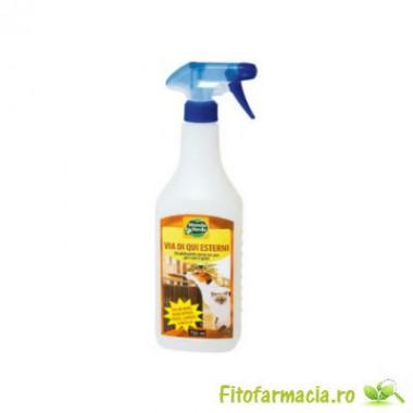 Spray concentrat impotriva cainilor, pisicilor pentru gradina