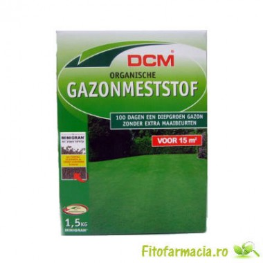 Fertilizant organic pentru gazon 1.5 kg
