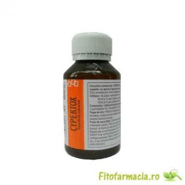 Insecticid profesional de contact si de ingestie anti gandaci de bucatarie 140 mp - Cypertox 100 ml