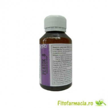 Solutie concentrata impotriva capuselor 140 mp - Pertox8 100 ml