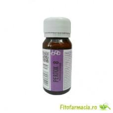 Substanta concentrata de culoare galbuie, anti capuse 70 mp - Pertox 8 - 50 ml