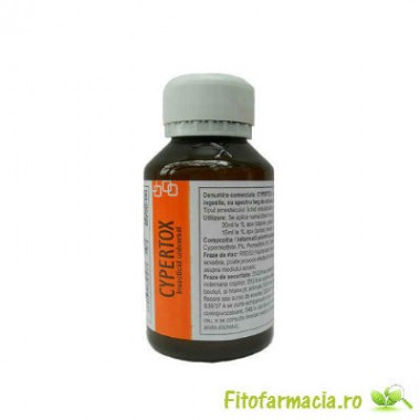 Insecticid profesional de contact si de ingestie anti capuse 140 mp - Cypertox 100 ml