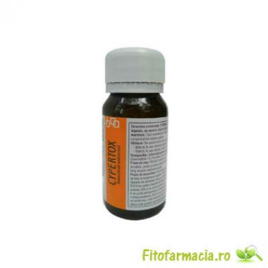 Substanta profesionala de contact impotriva capuselor 70 mp - Cypertox 50 ml