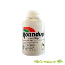 Roundup 100 ml erbicid total neselectiv