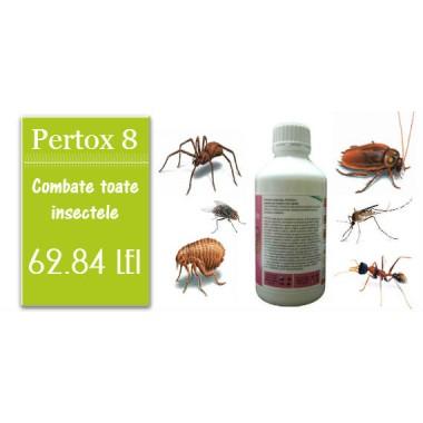 OFERTA LUNII !!! Solutie profesionala ce combate orice insecta Pertox 8 1l