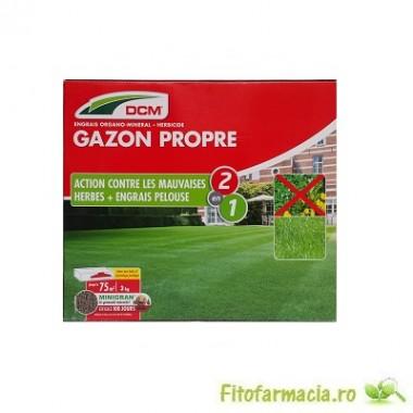 Fertilizant gazon+Erbicid 3 kg