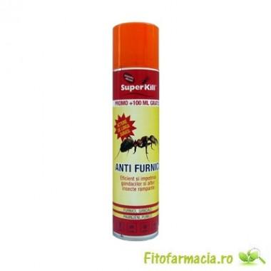 Super Kill insecticid spray impotriva furnicilor 400 ml