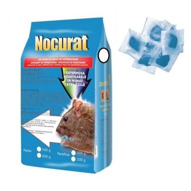 NOCURAT Momeala raticida sub forma de pasta albastra (200 gr)