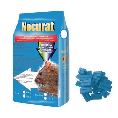 NOCURAT Momeala raticida sub forma de parafina albastra (100 gr)