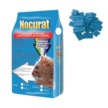 NOCURAT Momeala raticida sub forma de parafina albastra (200 gr)
