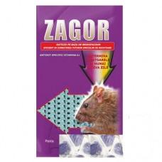 ZAGOR Momeala raticida sub forma de pasta mov (5 kg)
