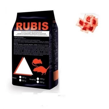 RUBIS Momeala raticida sub forma de pasta rosie (200 gr)