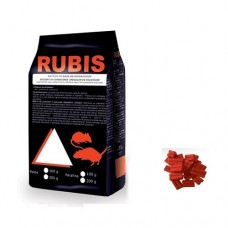 RUBIS Momeala raticida sub forma de parafina rosie (100 gr)
