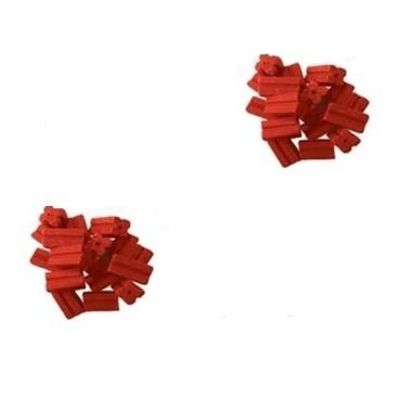 RUBIS Momeala raticida sub forma de parafina rosie (10kg 10gr/baton cerat)
