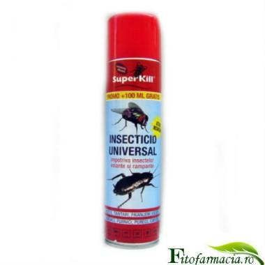 Super Kill insecticid Universal anti purici 400 ml