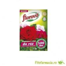 Florovit pt trandafiri si alti arbusti ornamentali cu efect prelungit 100zile 1kg