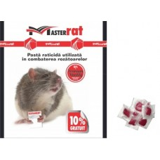 MasterRat Momeala raticida sub forma de pasta rosie (100 gr)