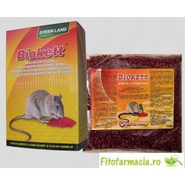 Momeala sub forma de cereale impregnate Biokett PAK 200gr